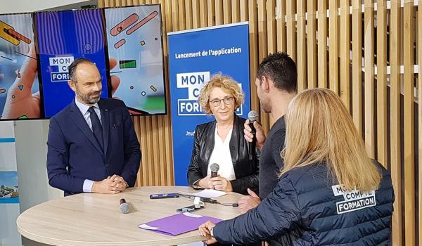 """Le Campus des services de l'automobile et de la mobilité accueille le lancement de l'application """"Mon compte formation"""""""